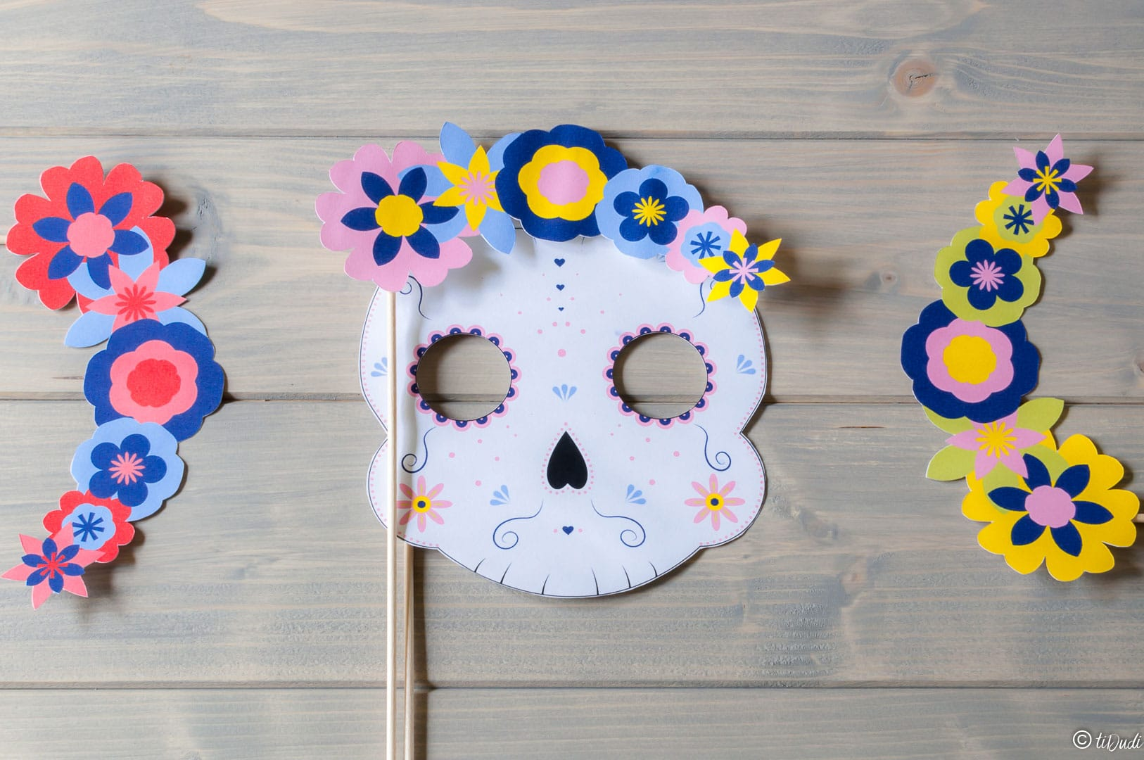 Photobooth Halloween Dia de los muertos - tiDudi