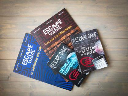 Livre escape game : j'ai testé 4 livres-jeux