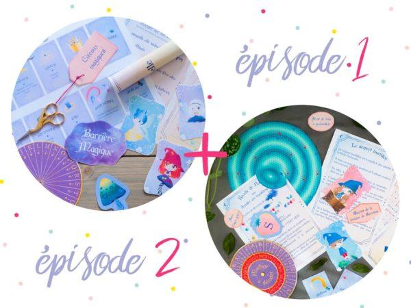 Pack escape game enfant tiDudi