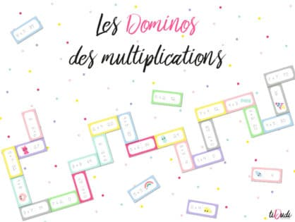 Dominos des multiplications