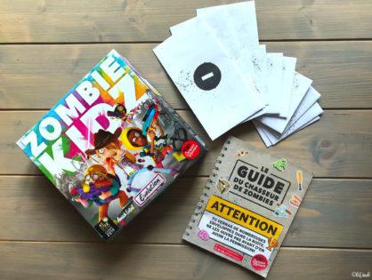 Zombie Kidz Évolution : un jeu de société coopératif et évolutif