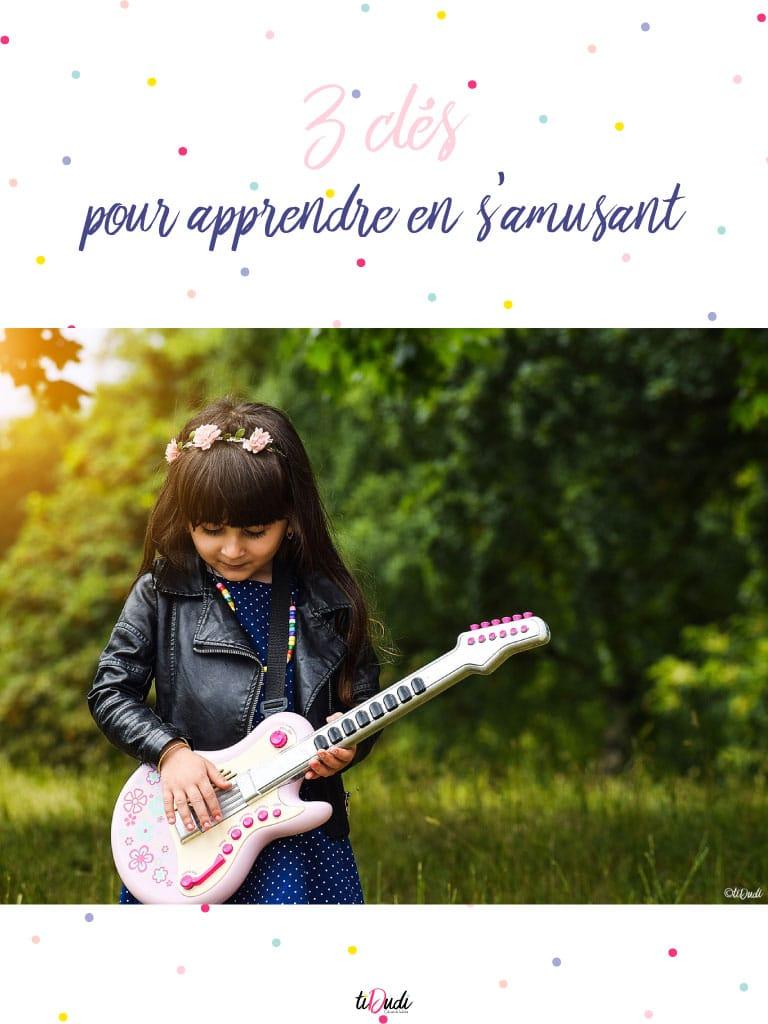3 clés pour aider les enfants à apprendre en jouant. tiDudi