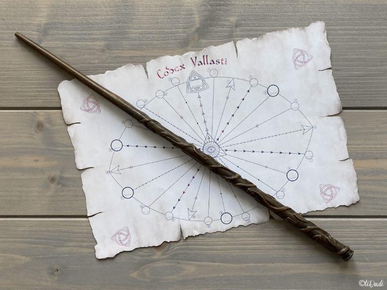 Calendrier de l'Avent pour ado fan d'escape game et de Harry Potter